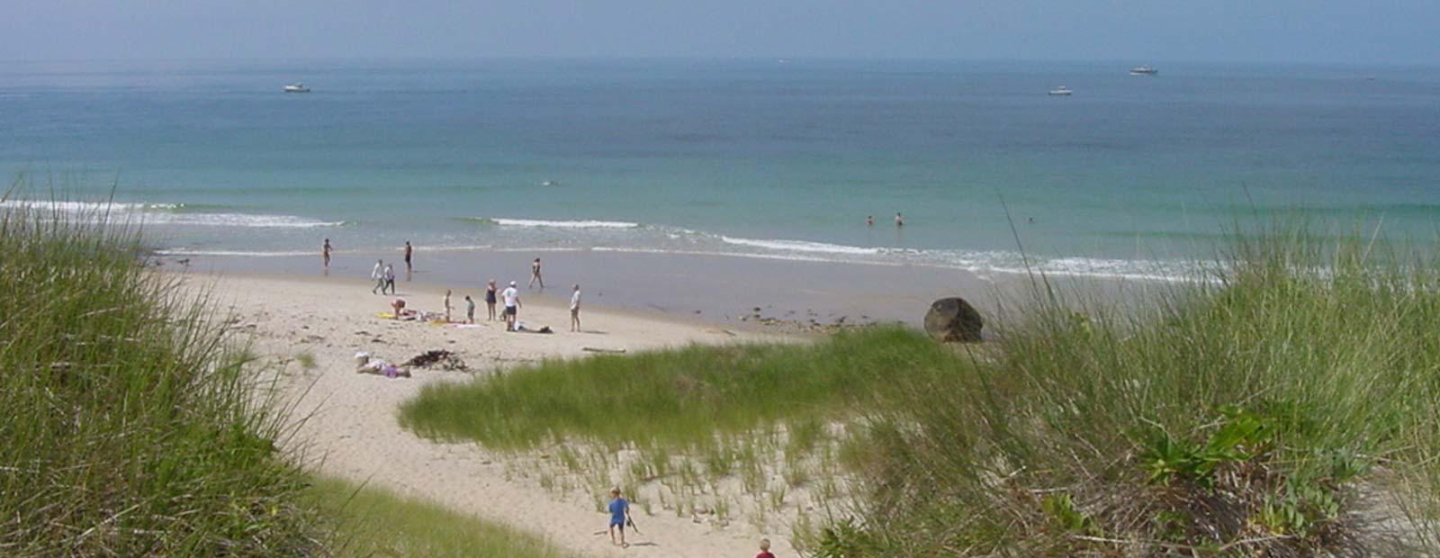 Pristine beaches ...